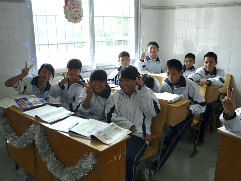 English Class in China