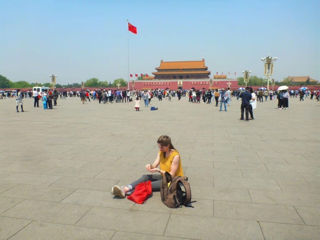 Beijing Tiannamen Square