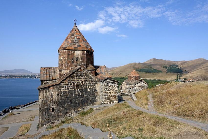 Armenia Monastery Lake