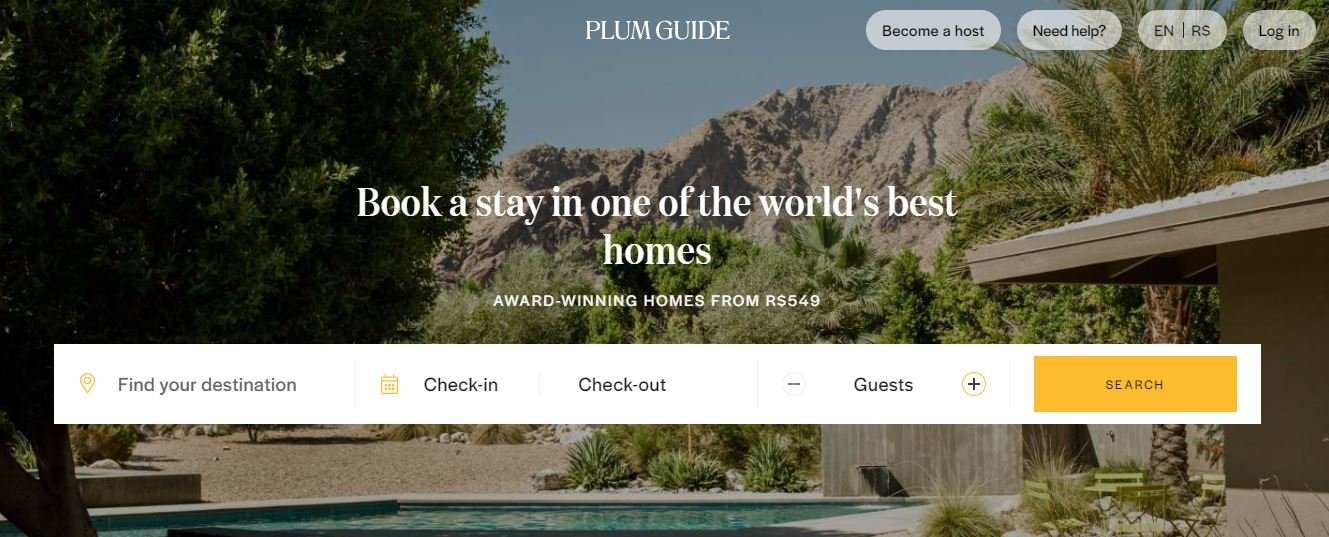 Finding Accommodations - Plum guide