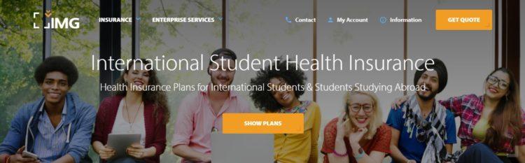 img international student health insurance