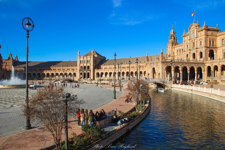 Plaza de España Seville - Andalucia Hiking